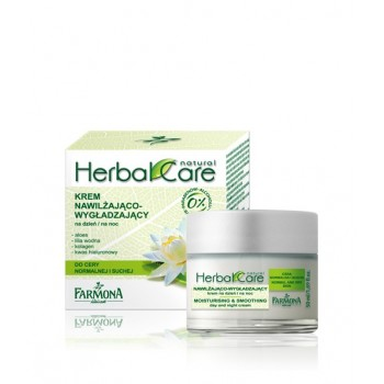 Herbal Care Увлажняюще-разглаживающий крем дневной/ночной Moisturising and smoothing day and night cream Farmona