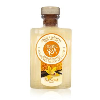 """Magic Spa Роскошное молочко для ванны """"Мед & Ваниль"""" в стекле Farmona"""