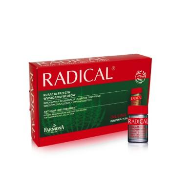 Radical Питательный комплекс для кожи головы, стимулирующий рост волос, в ампулах  Farmona