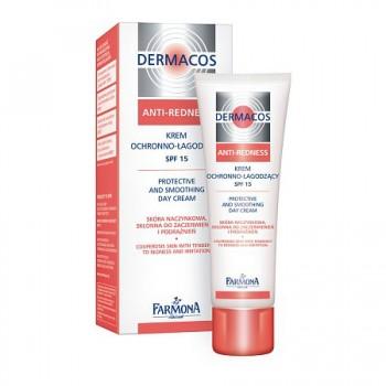 Dermacos Anti-Redness Крем для лица защитно-тонизирующий на день SPF15 Farmona