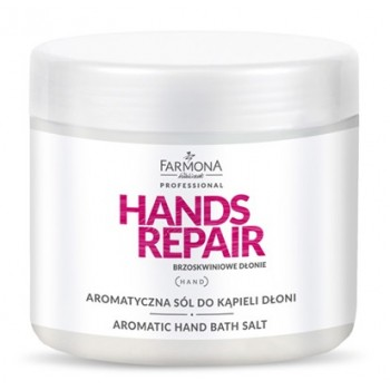 Ароматическая соль для ванны рук Aromatic hand bath salt Hands Repair Farmona Farmona Professional