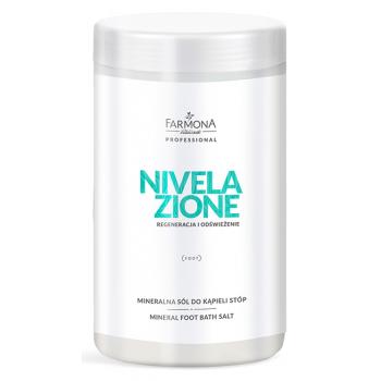 Минеральная соль для ванны для стоп и смягчения эпидермиса Mineral foot bath salt Nivelazione Farmona Farmona Professional