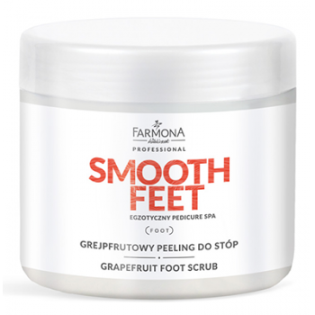 Скраб для ног Грейпфрут Grapefruit foot scrub Smooth Feet Farmona Farmona Professional