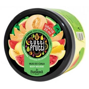 Tutti Frutti Дыня & Арбуз Мусс для тела Farmona