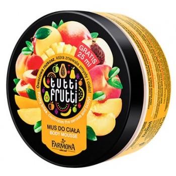 Tutti Frutti Манго & Персик Мусс для тела Farmona
