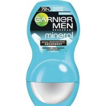 Mineral Men Дезодорант-антиперспирант роликовый Ледяной Экстрим Garnier