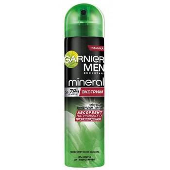 Mineral Men Дезодорант-антиперспирант спрей Экстрим 72ч Garnier