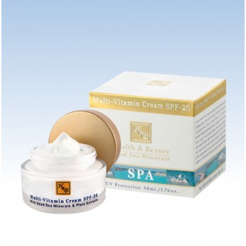Мультивитаминный увлажняющий крем SPF- 20 Health and Beauty (Израиль)