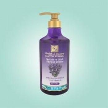 Увлажняющее жидкое бесщелочное мыло для тела с ароматом Лаванды  Health and Beauty (Израиль)