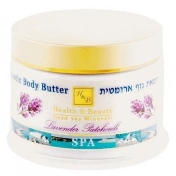 "Ароматическое масло для тела ""Лаванда и Пачули"" Health and Beauty (Израиль)"