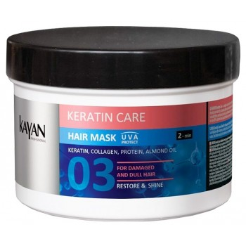 Маска для поврежденных и тусклых волос Keratin Care KAYAN Professional