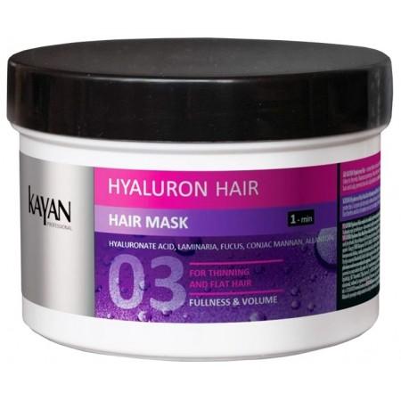 Маска для тонких и лишенных объема волос Hyaluron Hair