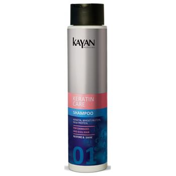 Шампунь для поврежденных и тусклых волос Keratin Care KAYAN Professional