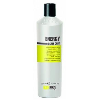 Энергетический шампунь для слабых и тонких волос Scalp Care Energy KayPro