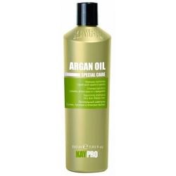 Питательный шампунь с аргановым маслом для сухих, тусклых и безжизненных волос Special Care Argan Oil KayPro