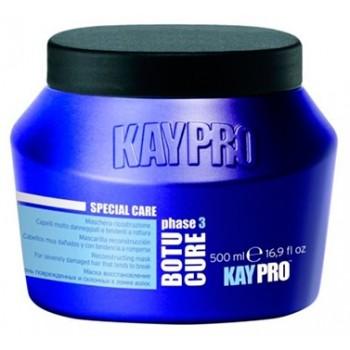 Реконструирующая маска с растительными пептидами для сильно поврежденных  и склонных к ломкости волос Kaypro Special Care KayPro