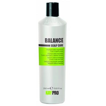 Себорегулирующий шампунь для жирной кожи и волос Scalp Care Balance