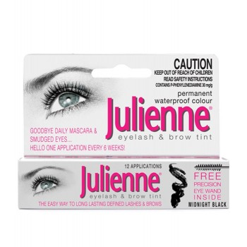 Краска для бровей и ресниц Julienne Eye Lash Dye Julienne