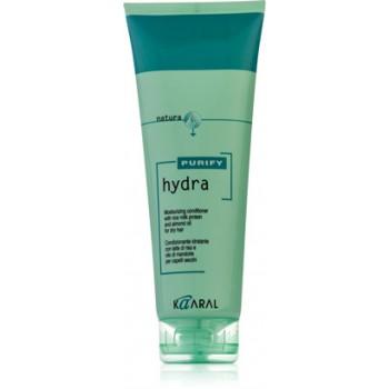 Увлажняющий кондиционер с рисовыми протеинами и миндальным маслом для сухих волос Hydra Conditioner Kaaral