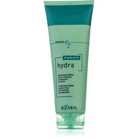 Увлажняющий кондиционер с рисовыми протеинами и миндальным маслом для сухих волос Hydra Conditioner