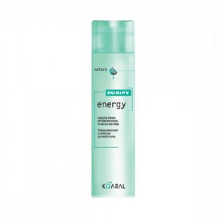 Интенсивный энергетический шампунь с ментолом для волос Energy Shampoo