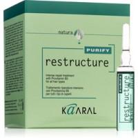 Интенсивный восстанавливающий комплекс с провитамином В5 для всех типов волос Restructure Kaaral