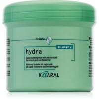 Питательная маска с маточным молочком для сухих и истощенных волос Hydra Deep Nourishing Mask Kaaral