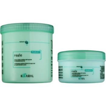 Безсульфатный интенсивный восстанавливающий кондиционер для поврежденных волос Reale Conditioner Kaaral