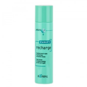 Спрей для волос с экстрактом бамбука Recharge Purify Kaaral