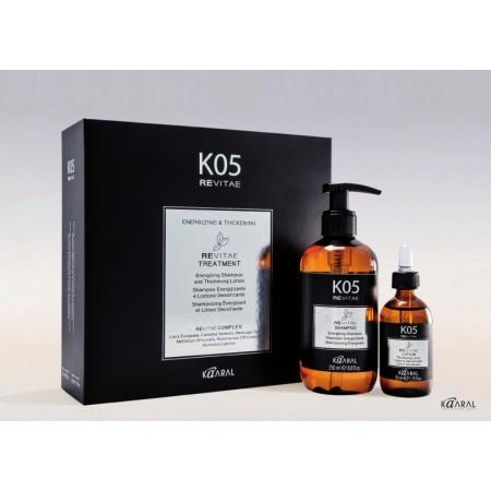 K05 REVITAE Набор против выпадения волос (тонизирующий шампунь и укрепляющий лосьон с тонизирующим эффектом)