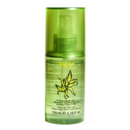 Professional Ylang-ylang Флюид для волос с эфирным маслом цветка дерева Иланг-Иланг
