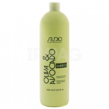 Studio Professional Olive and Avocado Шампунь увлажняющий для волос с маслами авокадо и оливы
