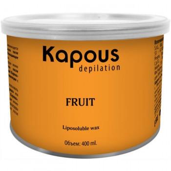Depilation Жирорастворимый воск Fuit с фруктовыми ароматоми Kapous