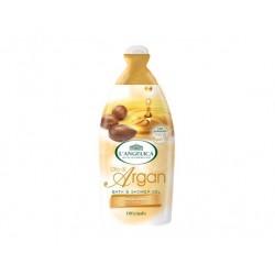 L' Angelica Officinalis  Гель-пена для ванны и душа смягчающая с маслом арганы