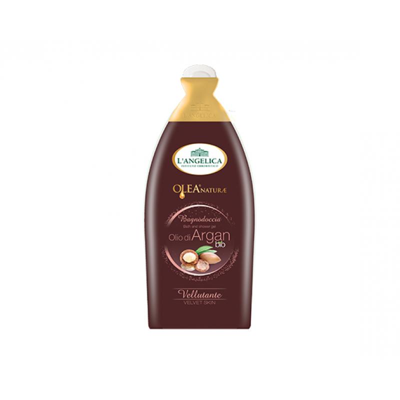 L' Angelica Natura Olea Гель для ванны и душа с маслом арганы