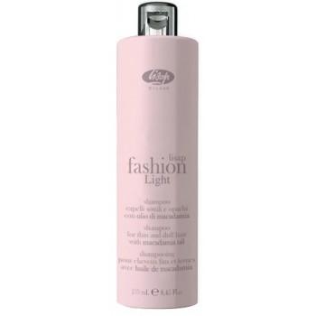 Шампунь для тонких и ослабленных волос Fashion Light Shampoo Lisap
