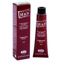 Man Крем-краска для волос Man Color Lisap