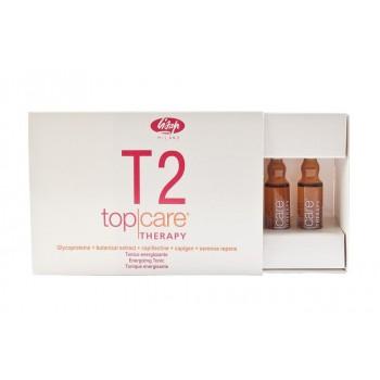 Стимулирующий тоник против выпадения волос Top Care Therapy Energizing Tonic T2 Lisap