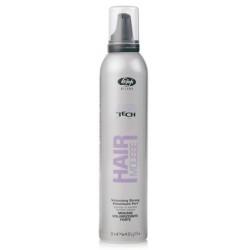 Мусс для укладки волос сильной фиксации High Tech Strong Volumizing Mousse Lisap