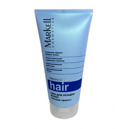 Гель для укладки волос мокрый эффект