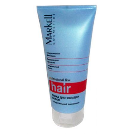 Пенка для укладки волос суперсильной фиксации