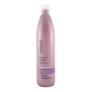 Шампунь для поврежденных и ослабленных волос Markell