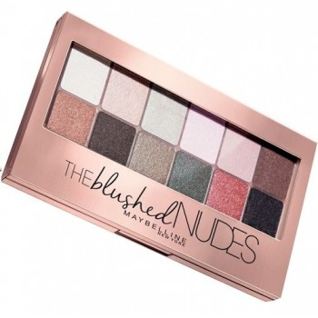 Палетка теней The Blushed Nudes Maybelline