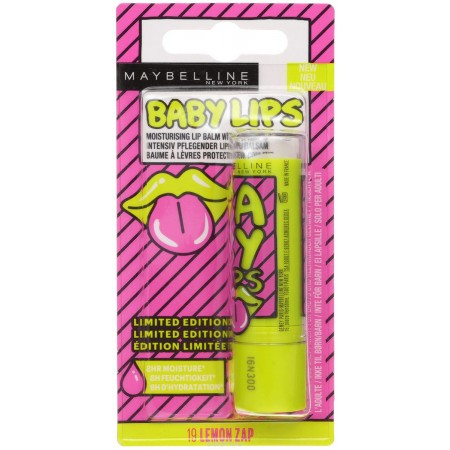 Бальзам для губ Baby Lips Pop Art Энергия Лимона