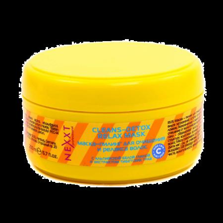 Маска-пилинг для очищения и релакса волос Cleans-Detox Relax Mask