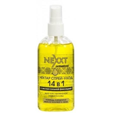 Нектар спрей-уход 14 в 1 с экстрасильной фиксацией Nectar Spray-Care 14 In 1 Extra Hold: Unica Sensitive