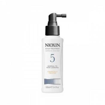 Несмываемая маска для нормальных и грубых, слегка редеющих, натуральных и химически обработанных волос System 5 Scalp Treatment Nioxin