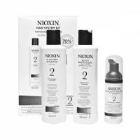 Cистема по уходу для заметно истонченных/редеющих, тонких натуральных волос System 2 Nioxin