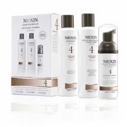 Система по уходу для заметно истонченных/редеющих, тонких, химически обработанных волос System 4 Nioxin