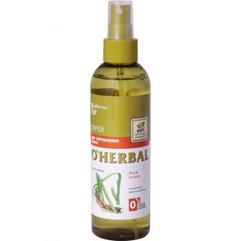 Спрей для укрепления волос с экстрактом корня аира O'Herbal